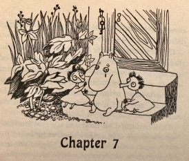 Thingumy and Bob Comfort Moomintroll